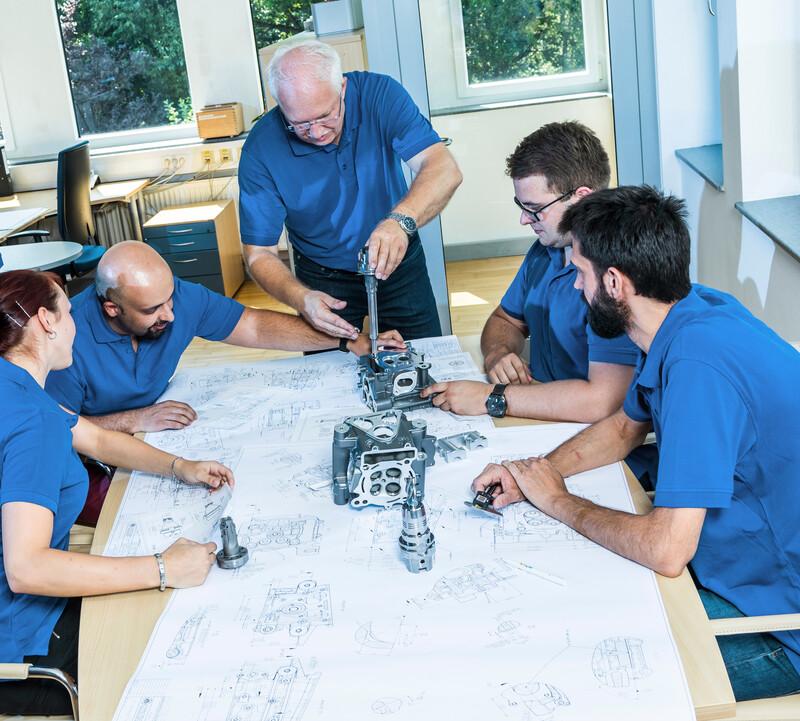 Das Software Team von Tooltracer.